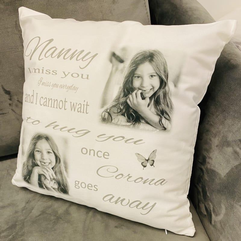 Personalised cushion - Lockdown