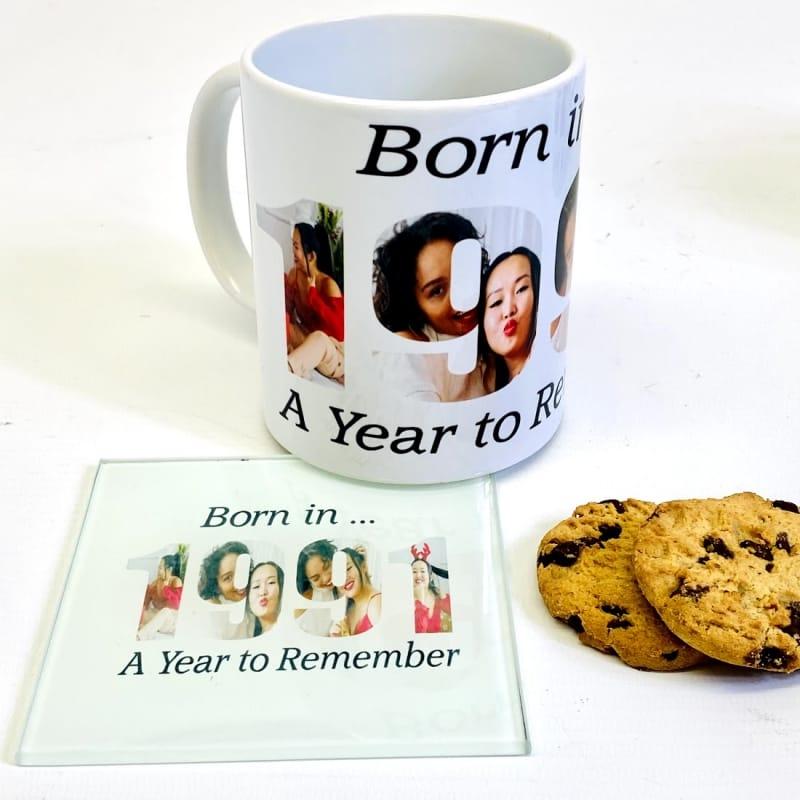 1991 Personalised Mug