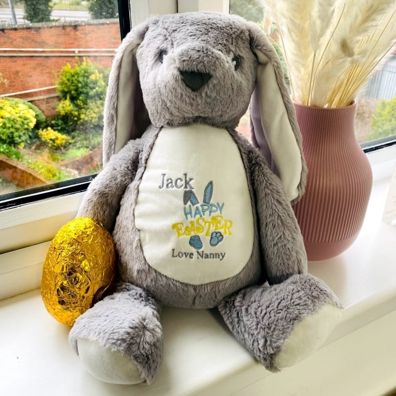 Personalised Boy Easter Bunny