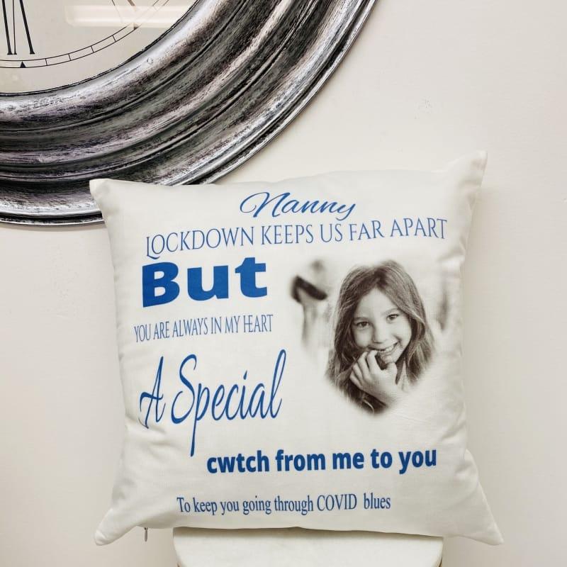 Personalised Cushion - Covid19