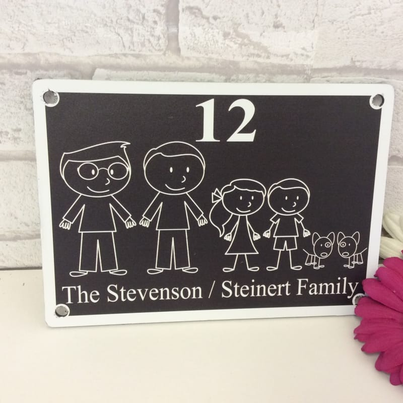 Door sign 2 : : Family Door Sign