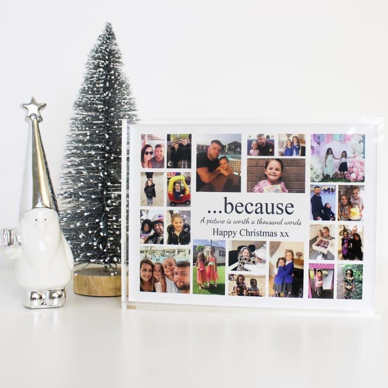 Because it's Christmas Photo Block