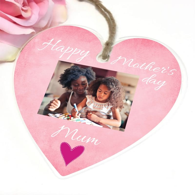 Personalised Mother's Day Hanging Heart - Mum