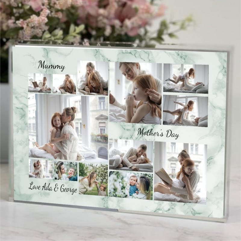 13 Photo Collage - Mother's Day Block