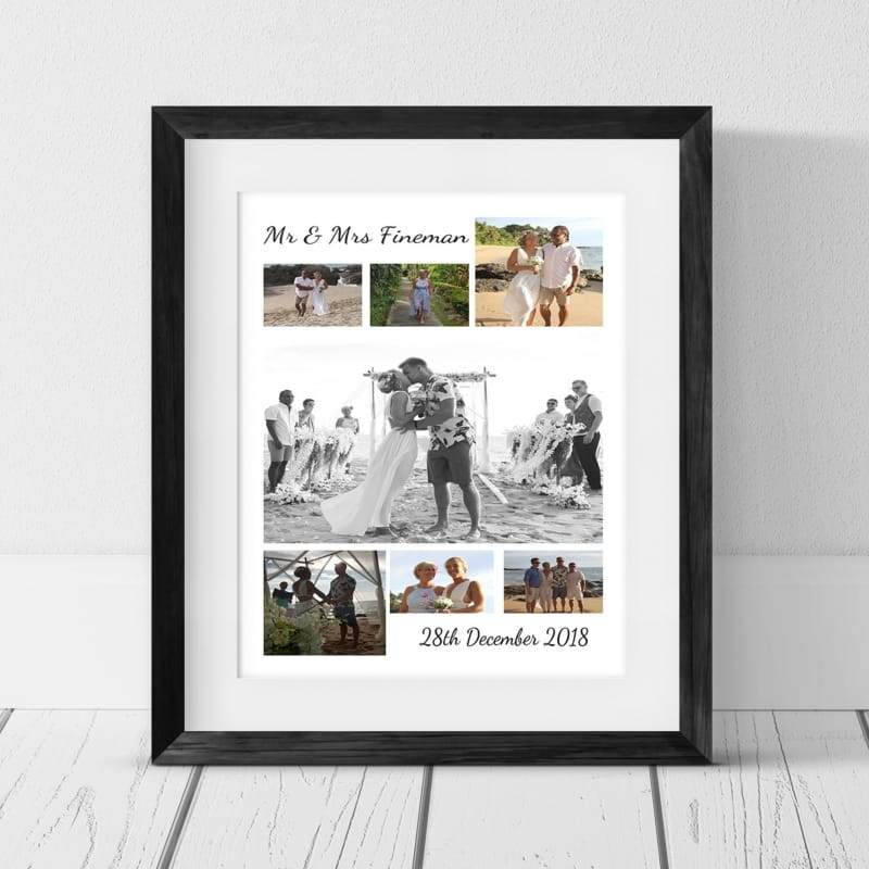 7 Photo Collage - Wedding