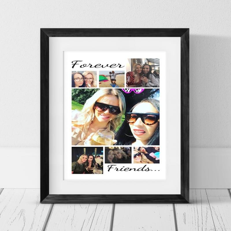 7 Photo Collage - Friend