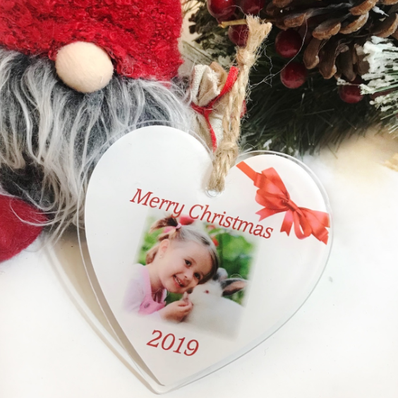 Christmas heart : Merry Christmas