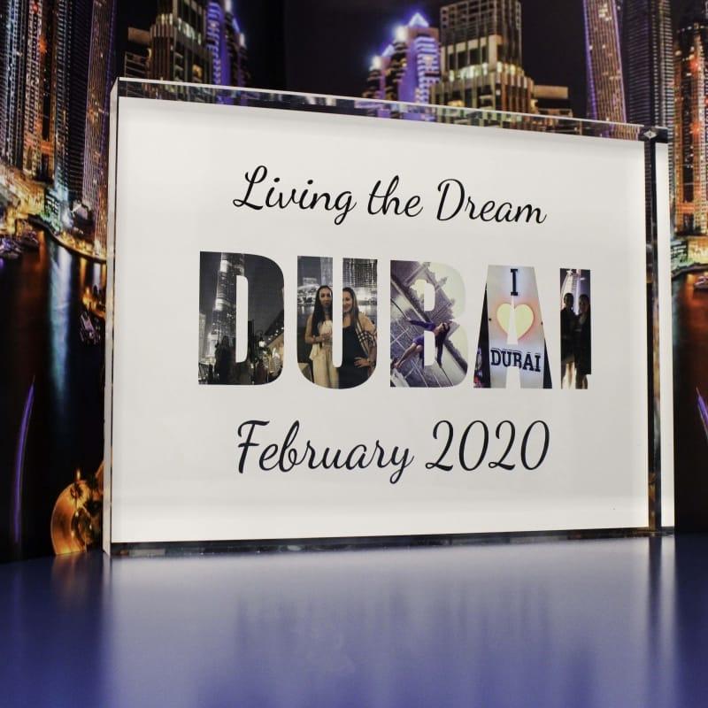 Dubai Photo Collage