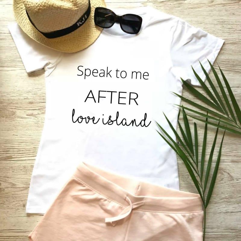 """Speak to me after Love Island"" Loungewear Set"