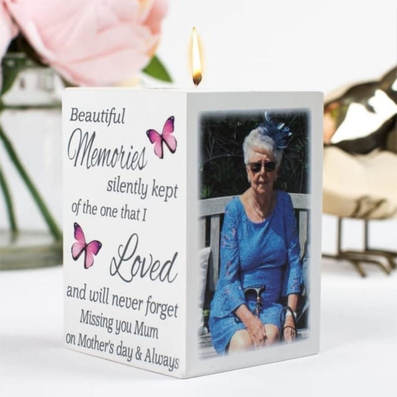 Tea Light Holder- Missing You On Mother's day
