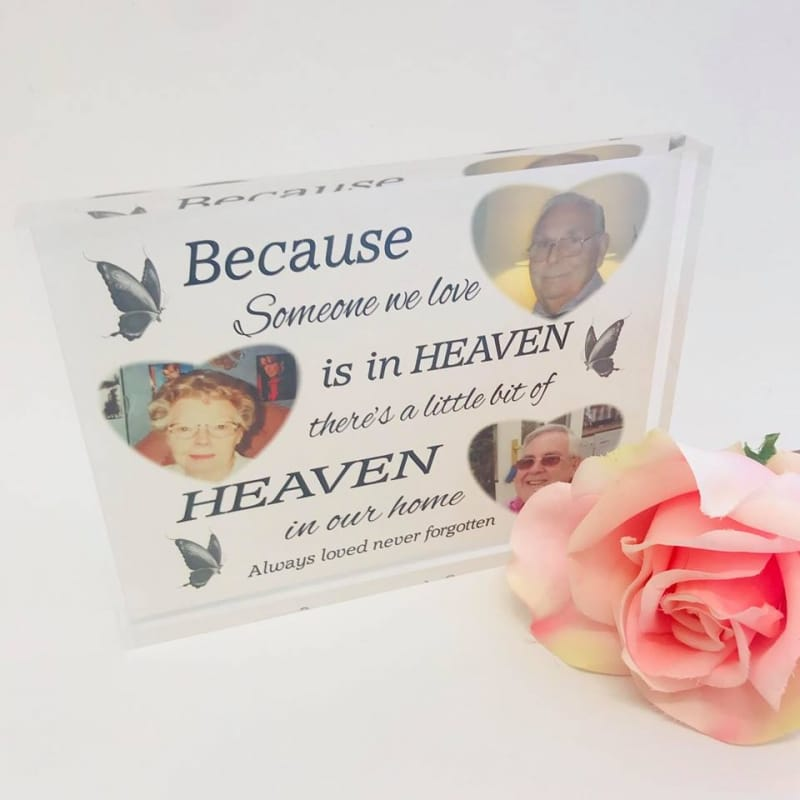 Because someone we love is in heaven Photo Block