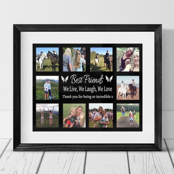 Personalised Photo Collage - Friend Collage
