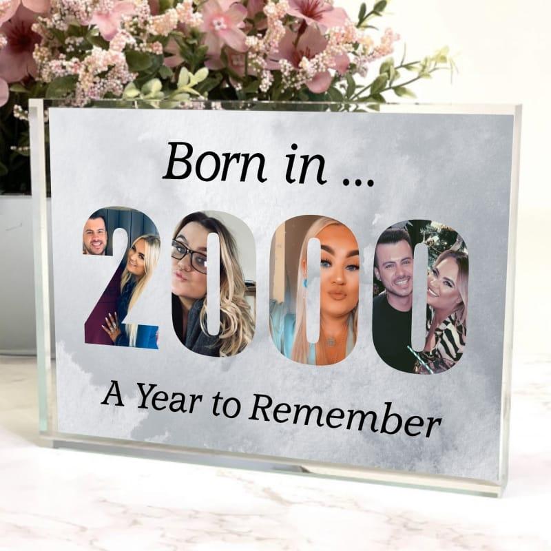 2000 Personalised Photo Block
