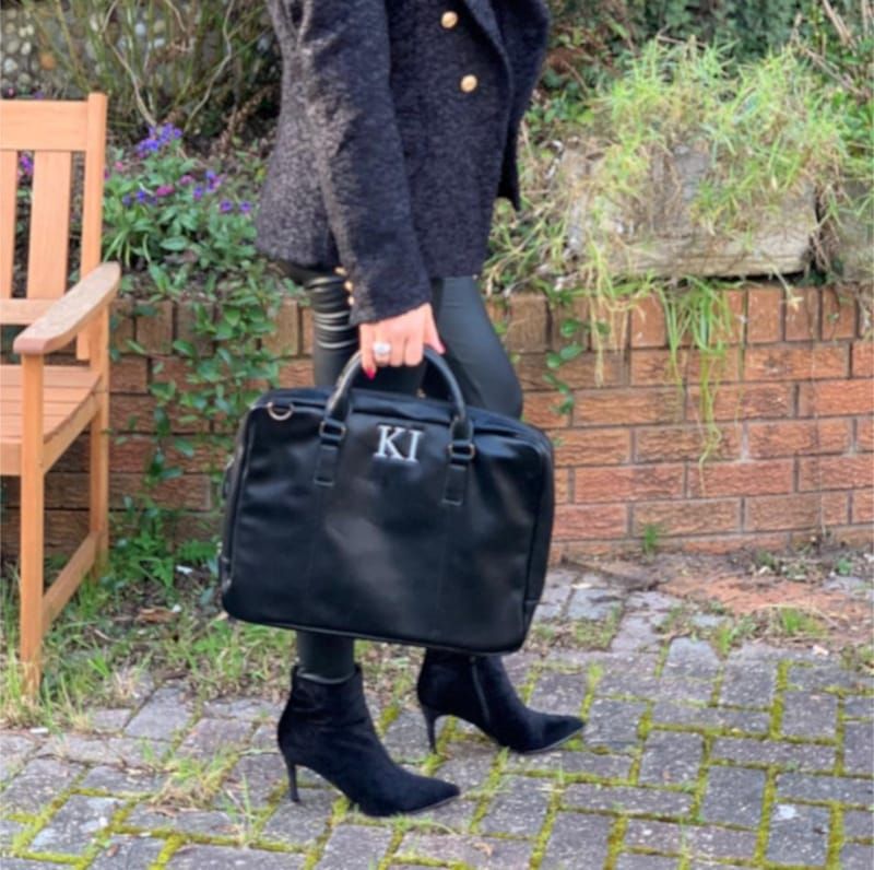 Personalised Luxury Leather Briefcase