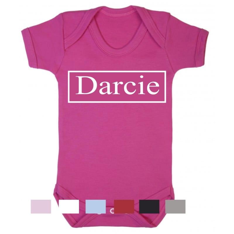 Personalised name bodysuit