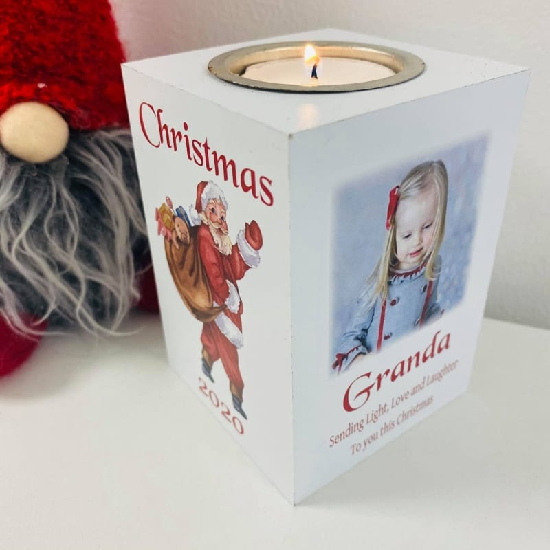Christmas Tealight Holder -  2020 Sending light, Love and Laughter
