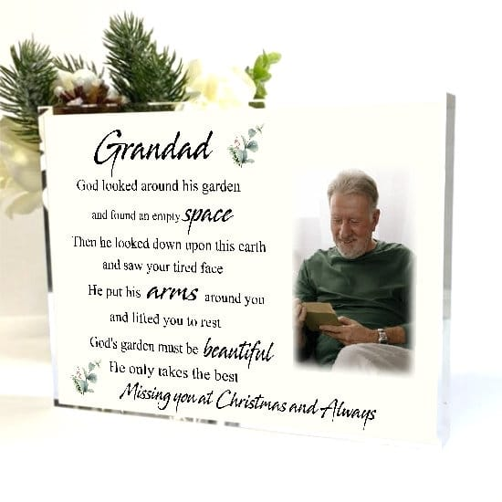 Missing you at Christmas - God's Garden