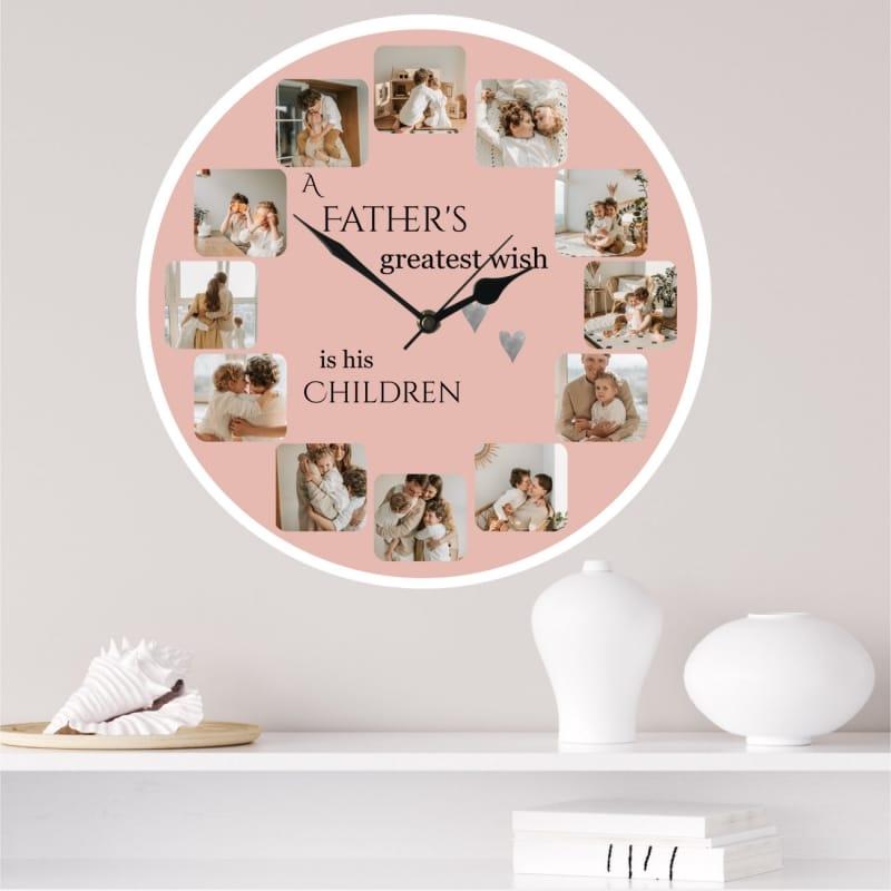 Personalised clock - Greatest wish