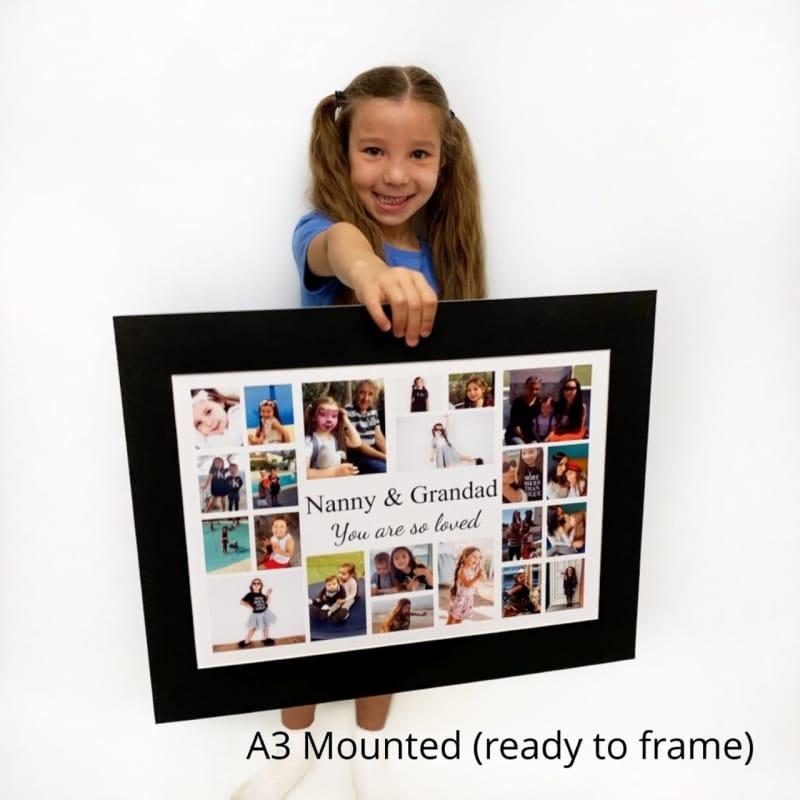 Age 50 Photo Collage - Birthday