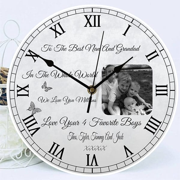Create your own photo clock