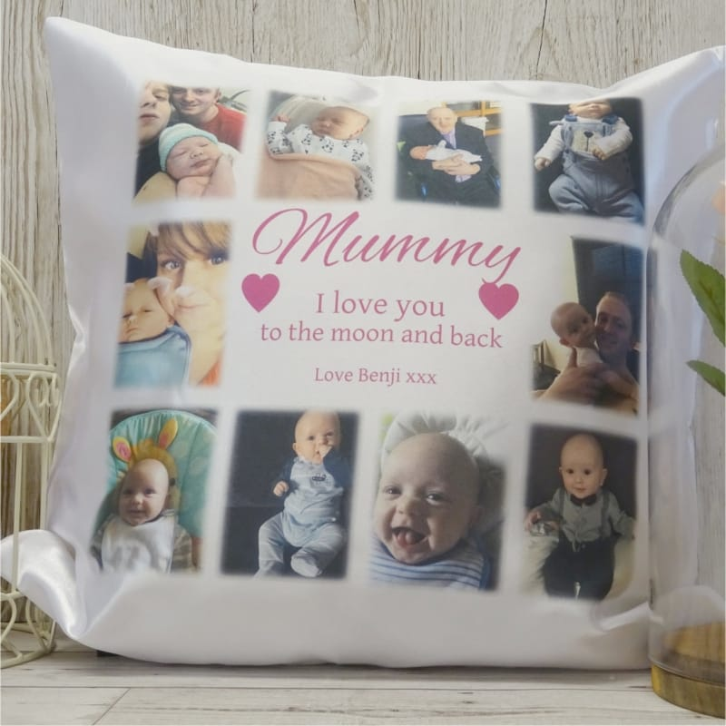 Personalised Cushion - I Love You To The Moon...