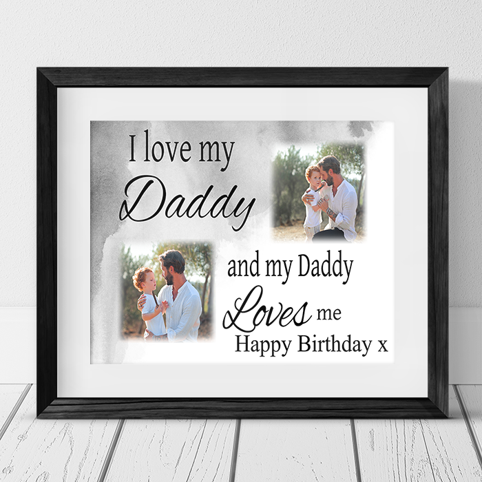 Love : Birthday Frame