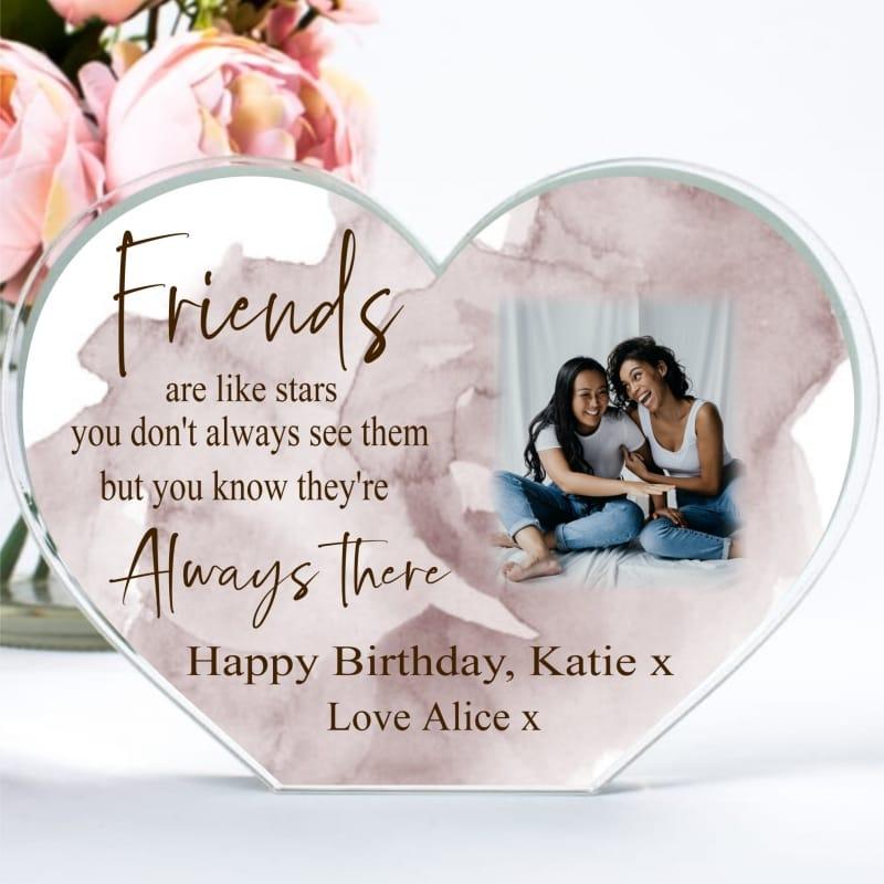 Birthday Friend  ...like stars heart block