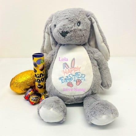 Personalised Girl Easter Bunny