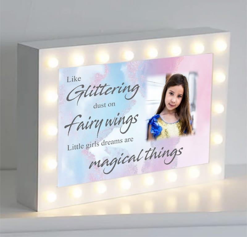 Fairy wings...Light box
