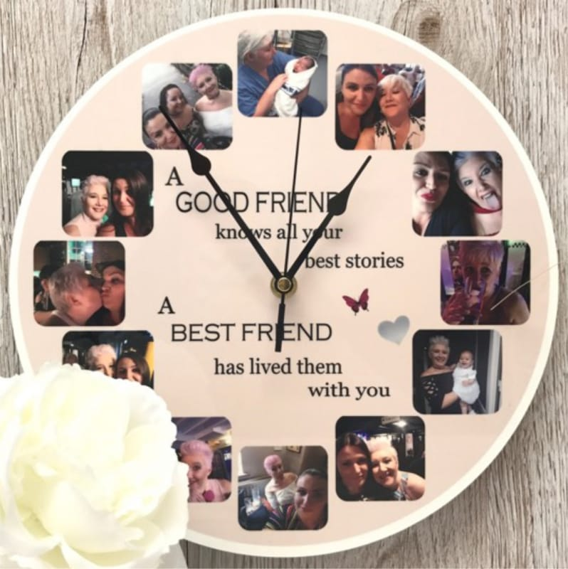 Personalised clock - Friend