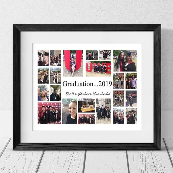 22 Photo Collage Graduation Frame