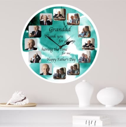 Father's day clock - Having the time for us