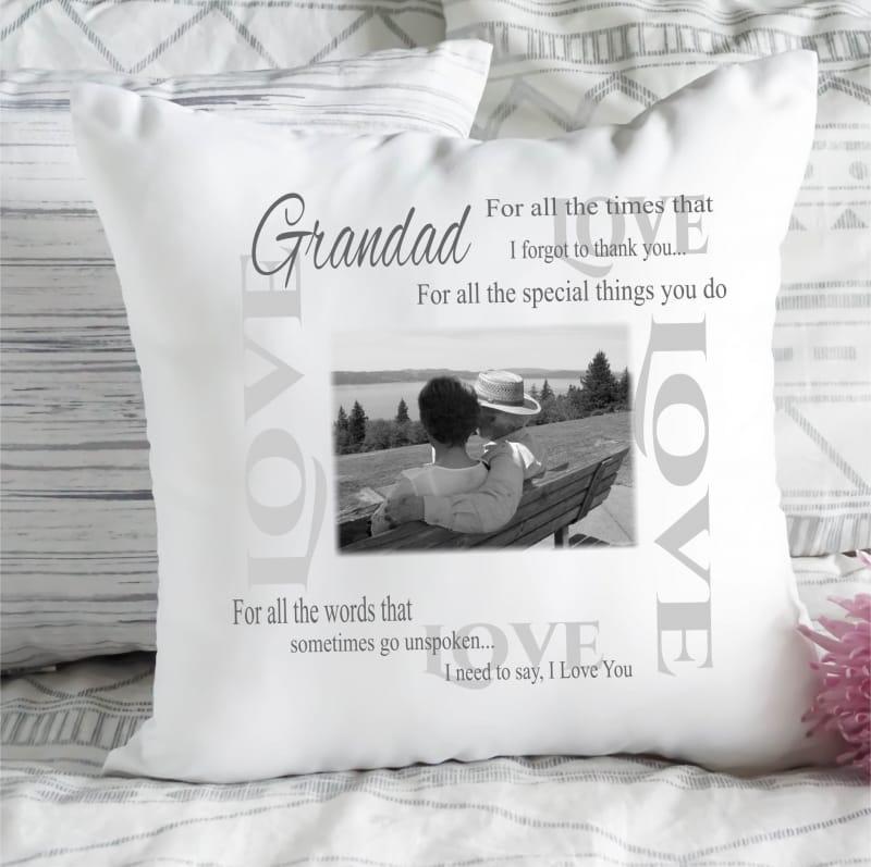 Personalised Cushion I need to say ....