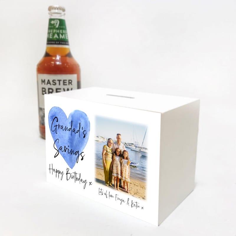 Mens Birthday Money Box