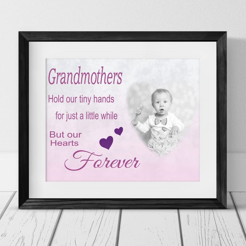 Personalised Photo Gift - Hold Our Tiny Hands