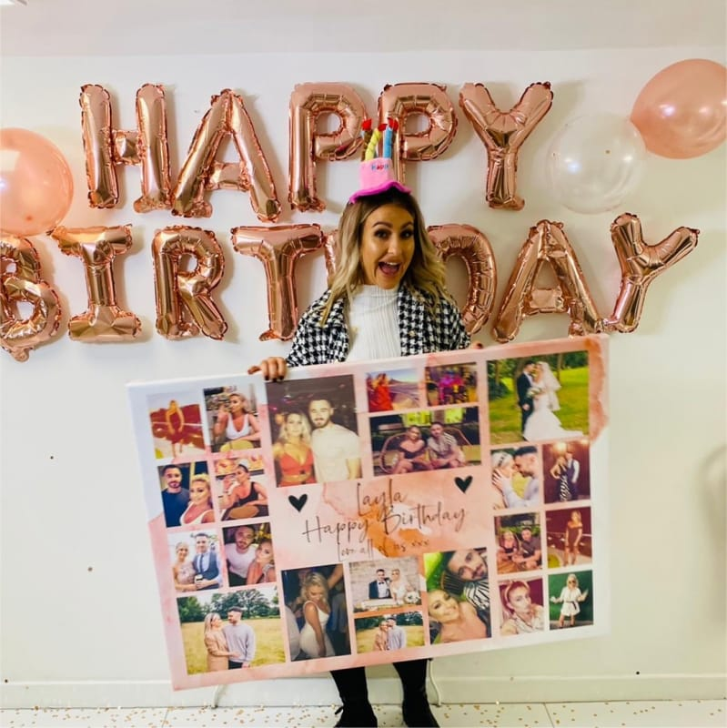 Happy Birthday - Photo Canvas