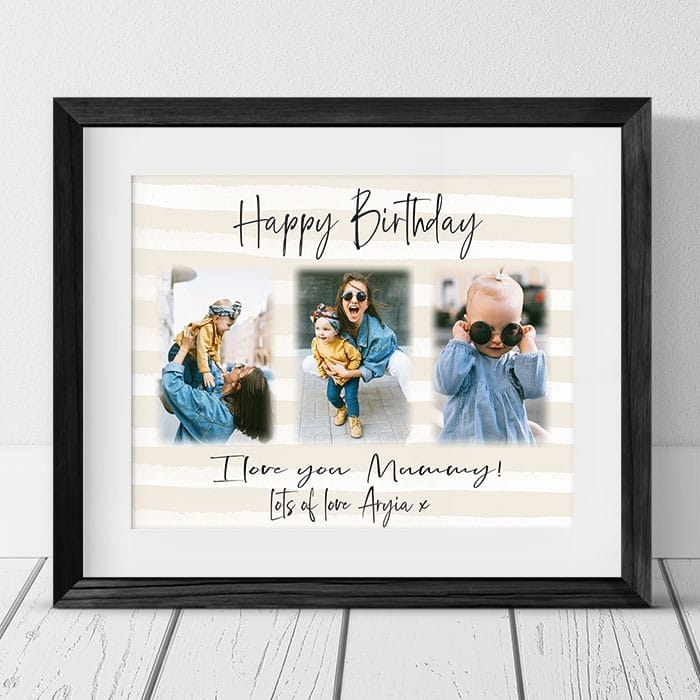 Birthday Photo Collage