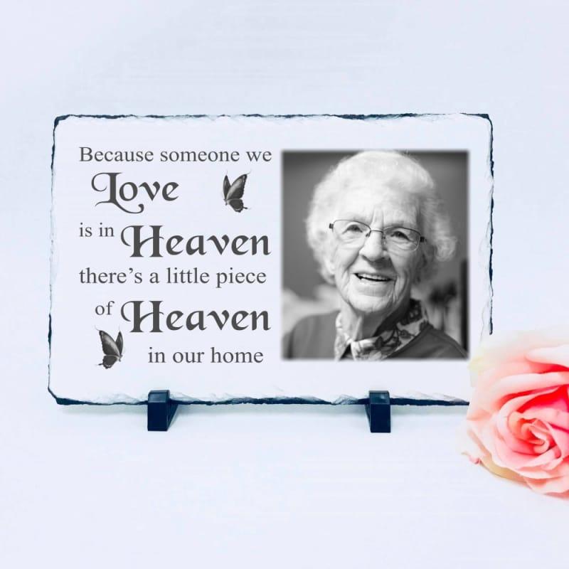 Lg Photo Slate - Heaven In Our Home