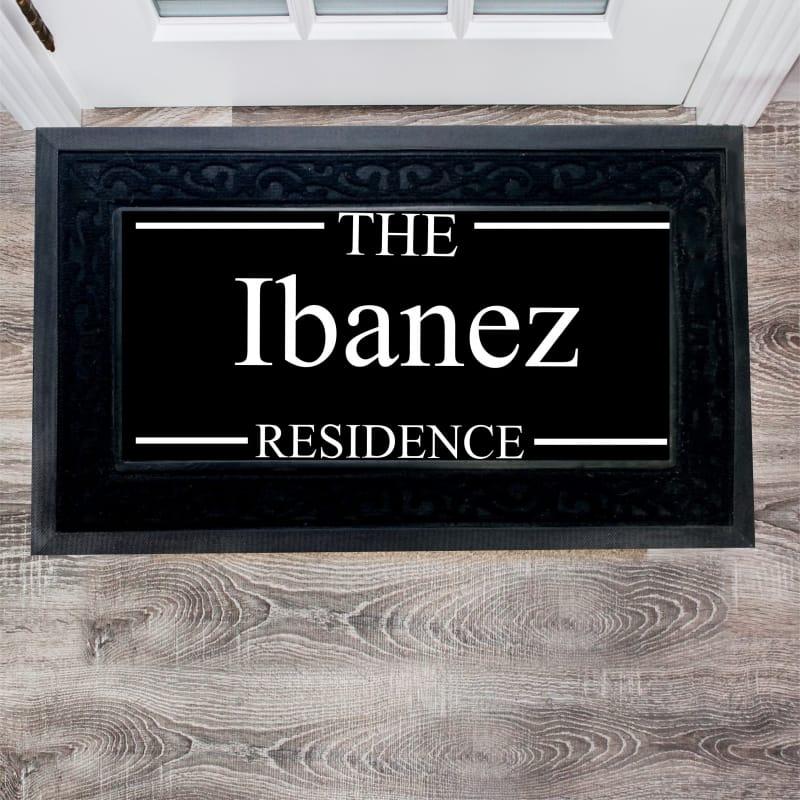 Personalised Luxury Residence Doormat