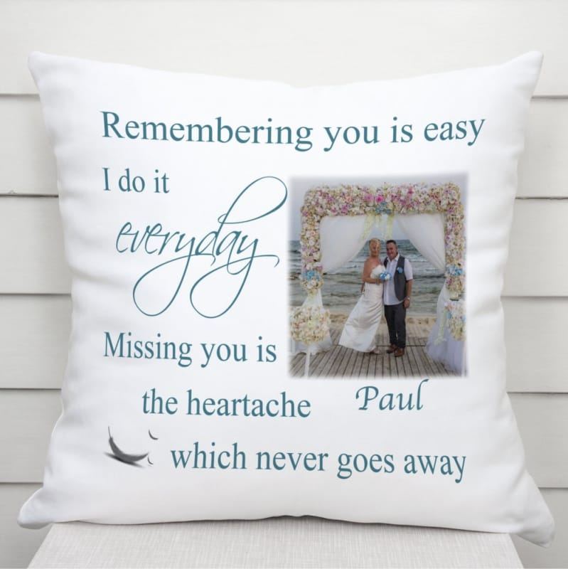 Remembering you : Cushion