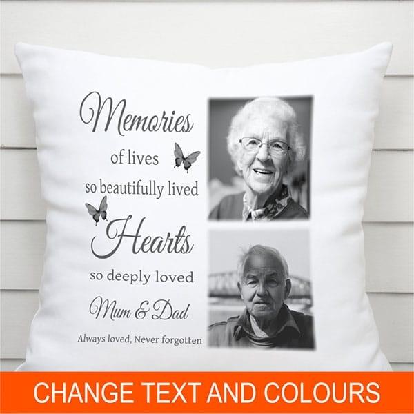 Personalised Cushion - Memories