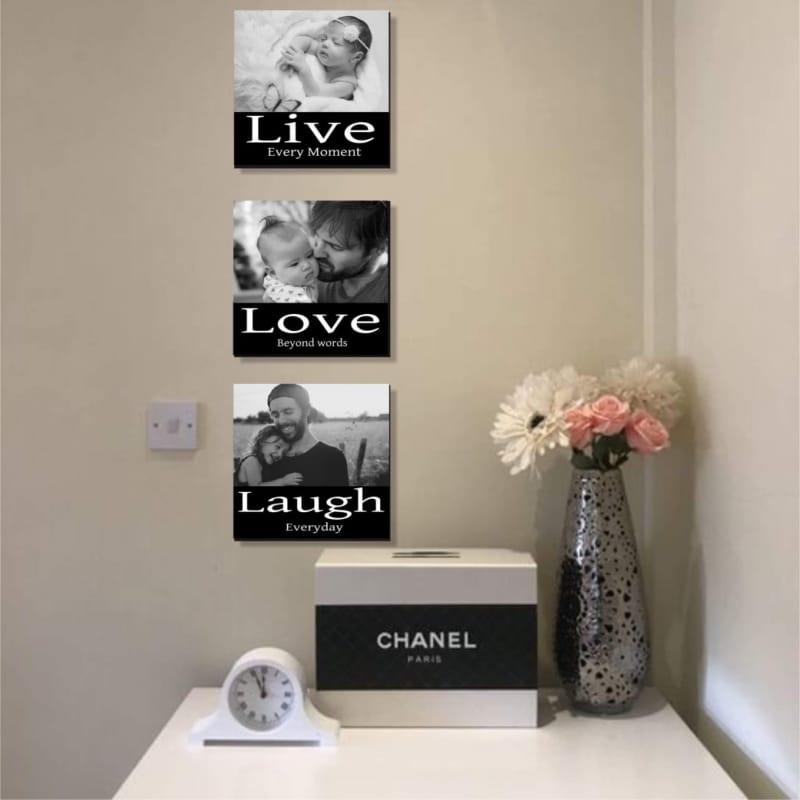 Luxury Photo Panel : Live every moment