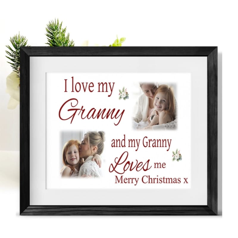 Love : Christmas Frame Nan