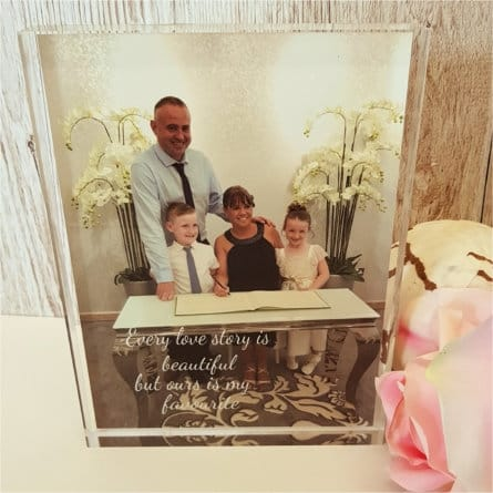 Personalised Photo Gift - Every love story