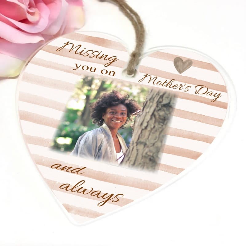 Missing you on Mother's day heart