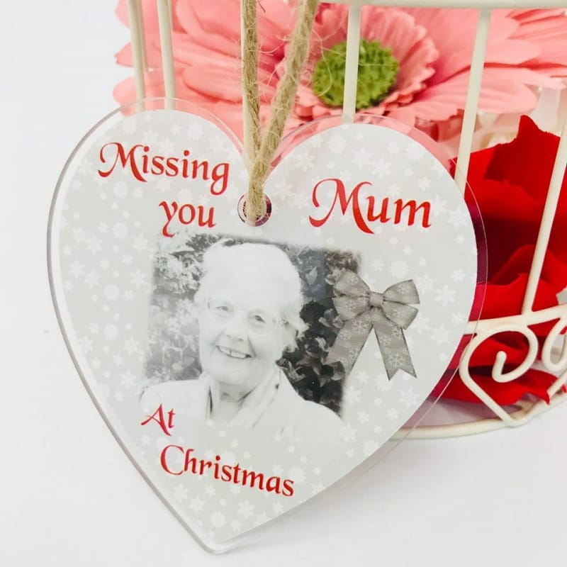 Missing you at Christmas heart