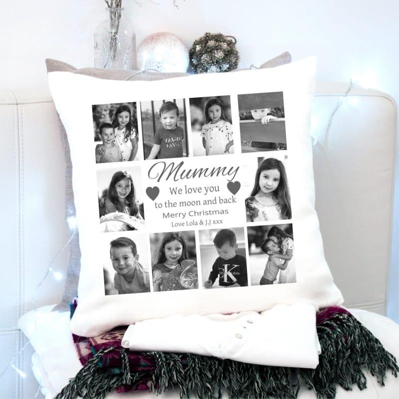 Christmas Cushion Mum- Love You To The Moon