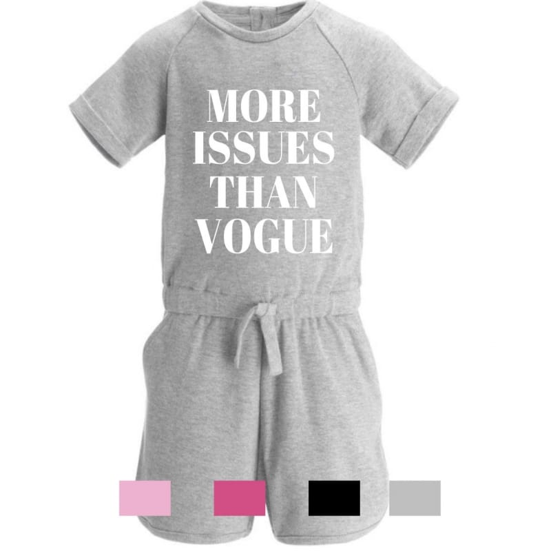 More issues than vogue playsuit