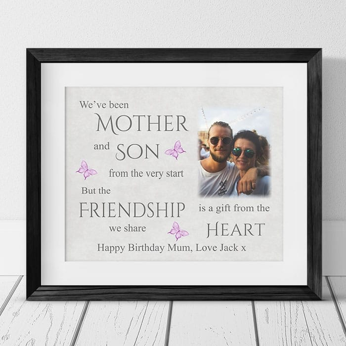 Mother and Son Birthday gift