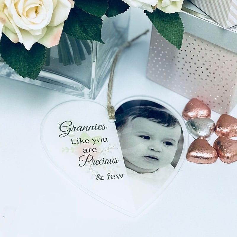 Precious and few- Acrylic heart